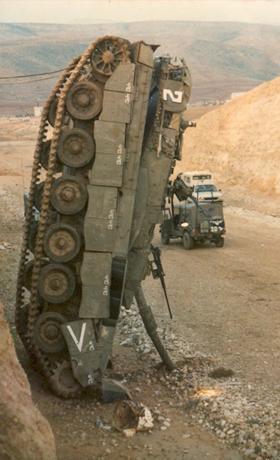 تانک میرکاوا. به اصطلاح دژ شکست نا پذیر ارتش اسرائیل